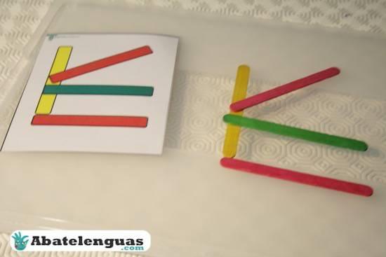 Abatelenguas como hacer figuras